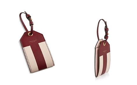 Tory Burch Color-Blocked Leather Luggage Tag - Bloomingdale's_2