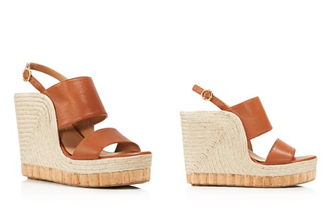 Salvatore Ferragamo Women's Leather Slingback Espadrille Wedge Sandals - Bloomingdale's_2