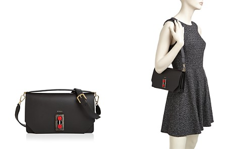Furla Snap Small Leather Shoulder Bag - Bloomingdale's_2