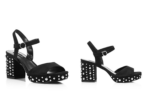 AQUA Women's Bells Studded Suede Ankle Strap Sandals - 100% Exclusive - Bloomingdale's_2