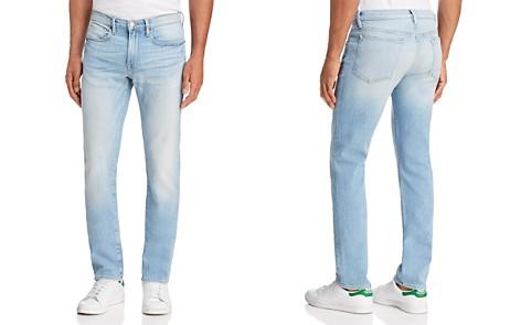 FRAME L'Homme Slim Fit Jeans in Finn - Bloomingdale's_2