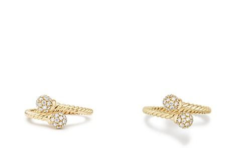David Yurman Solari Bypass Ring with Diamonds in 18K Gold - Bloomingdale's_2
