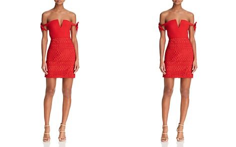 Stylestalker Jackson Off-the-Shoulder Mini Dress - Bloomingdale's_2