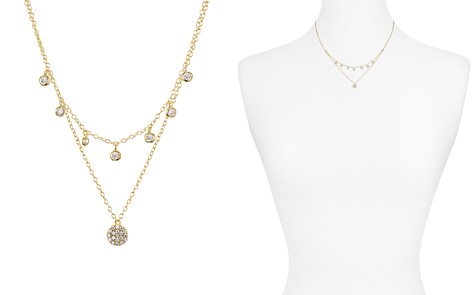 """AQUA Sterling Silver Layered Pendant Necklace, 16-17"""" - 100% Exclusive - Bloomingdale's_2"""