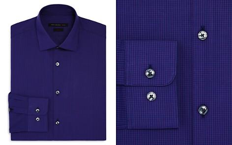 John Varvatos Star USA Mirco Windowpane Slim Fit Stretch Dress Shirt - Bloomingdale's_2