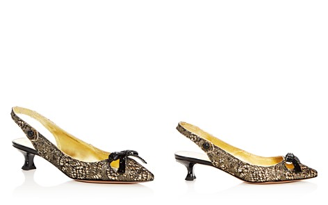 MARC JACOBS Women's Abbey Embellished Pointed Toe Slingback Pumps - Bloomingdale's_2