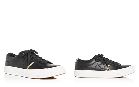 Converse Women's One Star Leather Lace Up Sneakers - Bloomingdale's_2