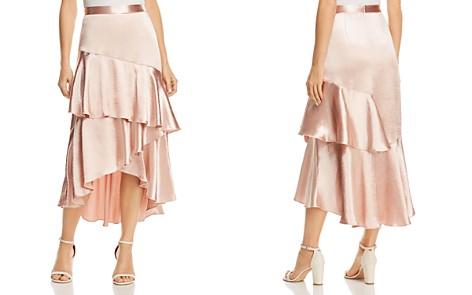 Lost + Wander Mademoiselle Ruffled Satin Skirt - Bloomingdale's_2