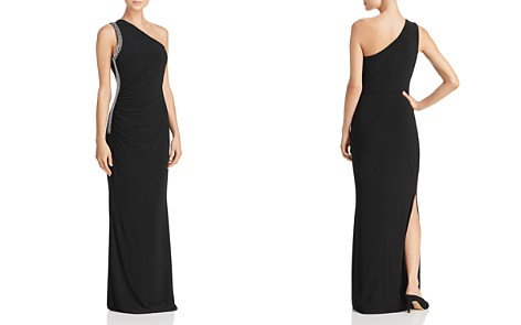 Laundry by Shelli Segal Embellished One-Shoulder Gown - Bloomingdale's_2