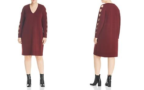 Love Scarlett Plus Ladder-Sleeve Sweater Dress - Bloomingdale's_2