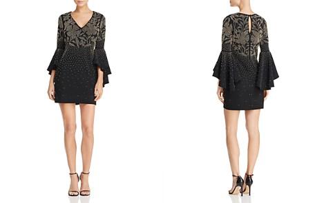 AQUA Beaded Bell-Sleeve Dress - 100% Exclusive - Bloomingdale's_2