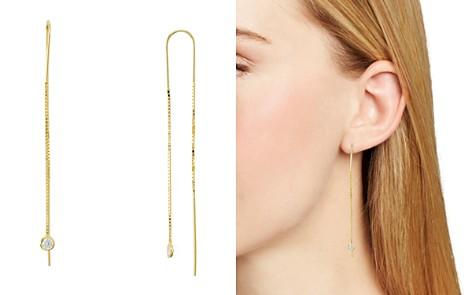 AQUA Sterling Silver Dangling Threader Earrings - 100% Exclusive - Bloomingdale's_2