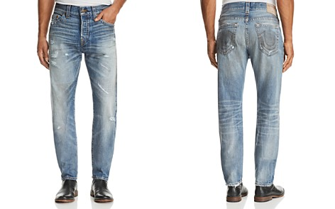 True Religion Logan Straight Fit Jeans in Mended Street Brawl - Bloomingdale's_2