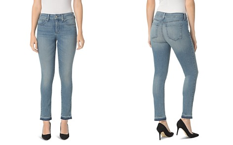 NYDJ Petites Sheri Released Hem Slim Ankle Jeans in Pacific - Bloomingdale's_2