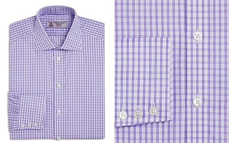 Turnbull & Asser Grid Regualr Fit Dress Shirt - Bloomingdale's_2