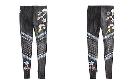 Terez Girls' Faux-Denim Patch & Sequin Print Leggings - Big Kid - Bloomingdale's_2