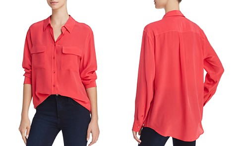 Equipment Signature Silk Shirt - Bloomingdale's_2