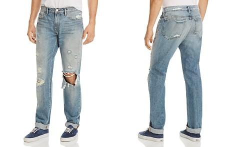 FRAME L'Homme Slim Fit Jeans in Bizworth - Bloomingdale's_2
