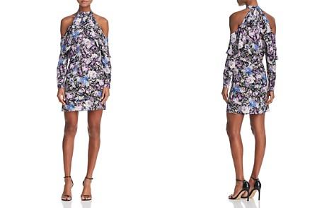 Parker Noemi Cold-Shoulder Floral-Print Silk Dress - Bloomingdale's_2