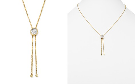 Bloomingdale's Diamond Bolo Necklace in 14K Yellow Gold, 0.30 ct. t.w. - 100% Exclusive _2