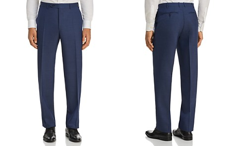 Canali Micro Box Weave Regular Fit Dress Pants - Bloomingdale's_2