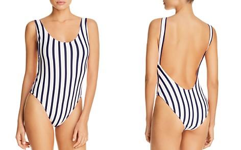 MILLY Deep Side Scoop One Piece Swimsuit - Bloomingdale's_2