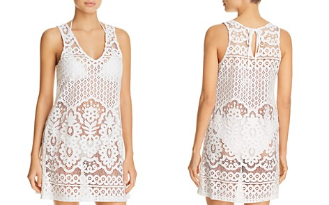 J. Valdi Pina Colada Lace Dress Swim Cover-Up - Bloomingdale's_2