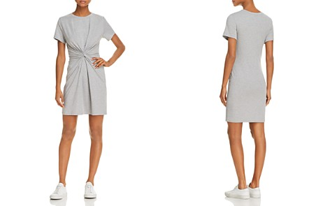 Theory Knotted T-Shirt Dress - Bloomingdale's_2