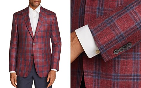 Jack Victor Plaid Regular Fit Sport Coat - Bloomingdale's_2