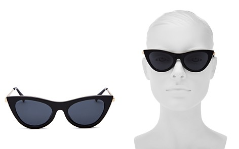 Le Specs Enchantress Cat Eye Sunglasses, 51mm - Bloomingdale's_2