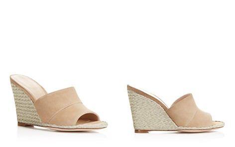 Stuart Weitzman Women's Slidewalk Suede Espadrille Wedge Slide Sandals - Bloomingdale's_2
