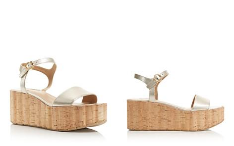 Salvatore Ferragamo Women's Leather Ankle Strap Platform Wedge Sandals - Bloomingdale's_2
