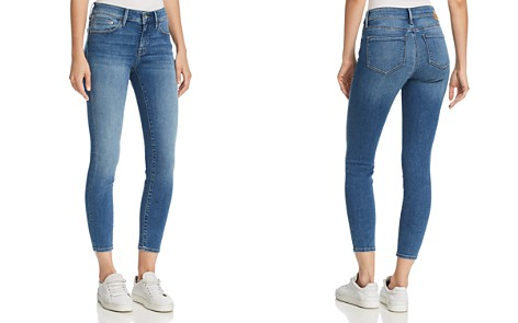 Mavi Adriana Ankle Mid Rise Super Skinny Jeans in Mid Supersoft - Bloomingdale's_2