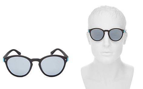 Polaroid Polarized Mirrored Round Sunglasses, 49mm - Bloomingdale's_2