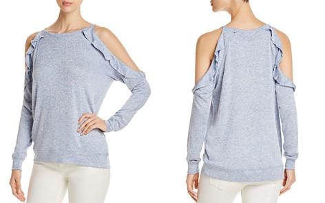 Alison Andrews Ruffled Cold-Shoulder Sweatshirt - Bloomingdale's_2