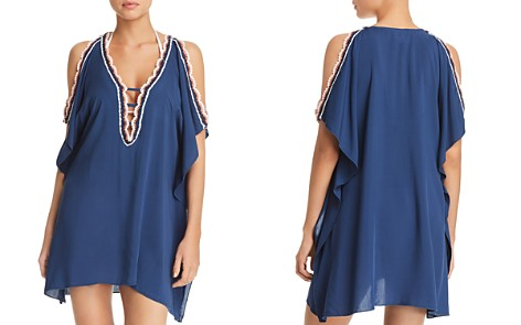 BECCA® by Rebecca Virtue Medina Tunic Swim Cover-Up - Bloomingdale's_2