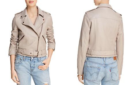True Religion Leather Moto Jacket - Bloomingdale's_2