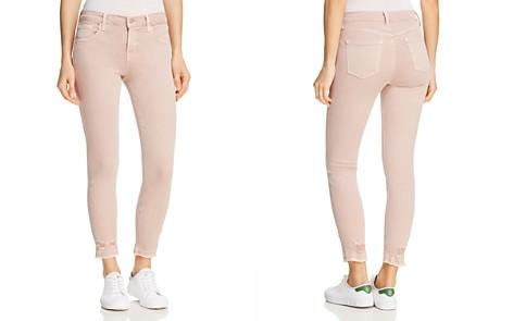 J Brand 835 Mid Rise Capri Jeans in Vinca Destruct - Bloomingdale's_2