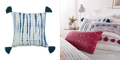 "Sparrow & Wren Shibori Tassel Decorative Pillow, 20"" x 20"" - 100% Exclusive - Bloomingdale's_2"