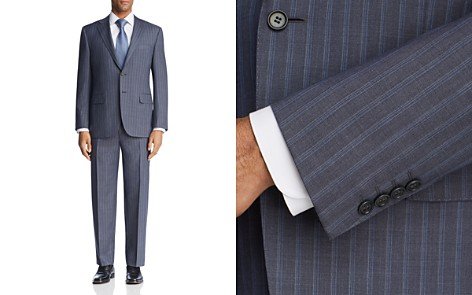 Canali Beaded Multi Stripe Regular Fit Suit - Bloomingdale's_2