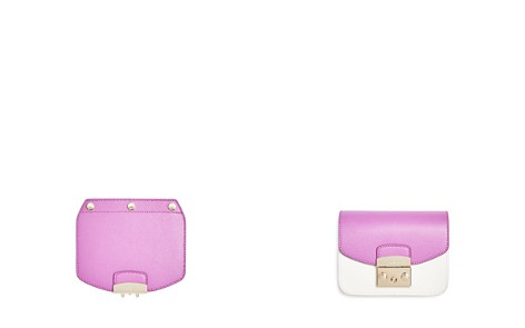 Furla MY PLAY Interchangeable Metropolis Mini Leather Flap - Bloomingdale's_2
