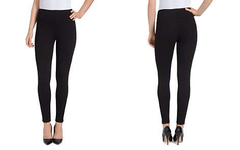 Lyssé Moto Denim Leggings - Bloomingdale's_2