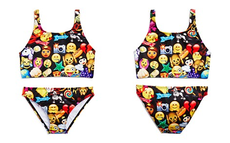 Terez Girls' Mixed Emoji 2-Piece Swimsuit - Little Kid, Big Kid - Bloomingdale's_2