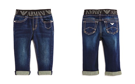 Armani Junior Boys' Logo Waistband Jeans - Baby - Bloomingdale's_2