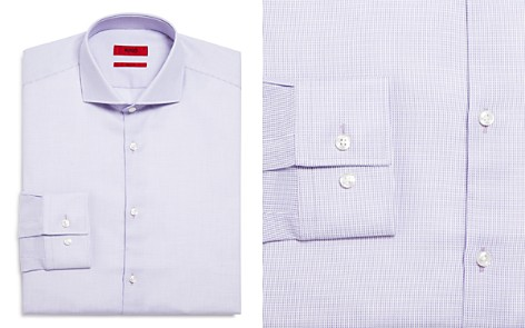 HUGO Textured Slim Fit Dress Shirt - Bloomingdale's_2