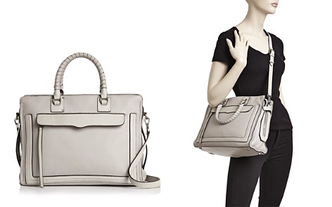 Rebecca Minkoff Bree Large Top Zip Leather Satchel - Bloomingdale's_2