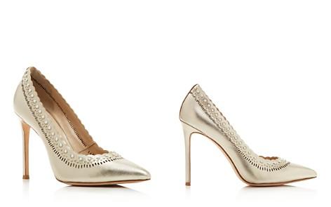 Pour La Victoire Women's Cerella Embellished Pointed Toe Pumps - Bloomingdale's_2