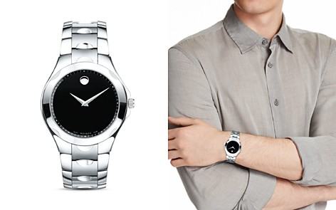 Movado Luno Watch, 40mm - Bloomingdale's_2