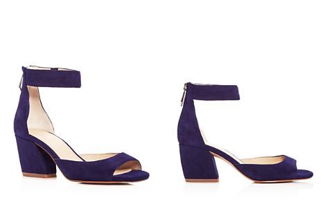 Botkier Women's Pilar Suede Ankle Strap Block Heel Sandals - Bloomingdale's_2