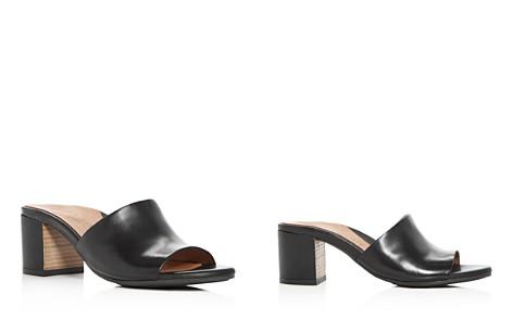 Gentle Souls Women's Chantel Leather Block Heel Slide Sandals - Bloomingdale's_2